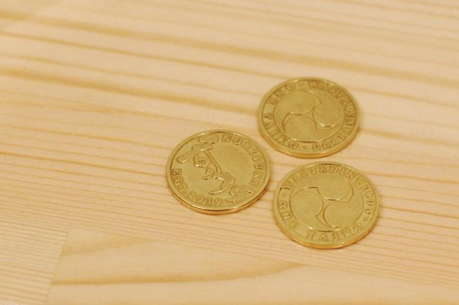 専用コインの「タイコ」