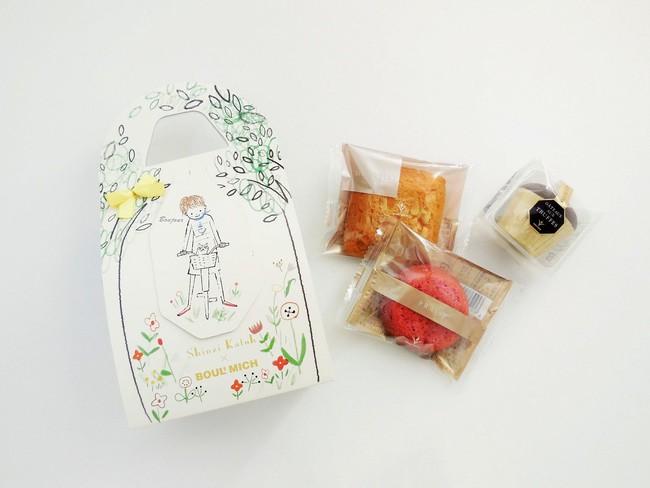 春の焼菓子ミニバッグ