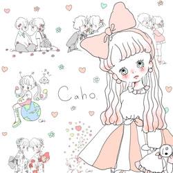 ふわふわ可愛い Caho さんのイラストに包まれる Caho サンキューマート コラボブランケット絶賛発売中 サンキューマートのプレスリリース