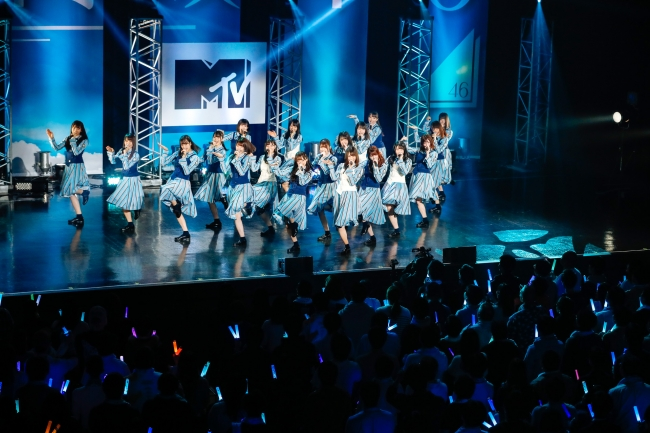 日向坂46の貴重なライブをMTVJAPAN.COMで配信決定!「MTV LIVE