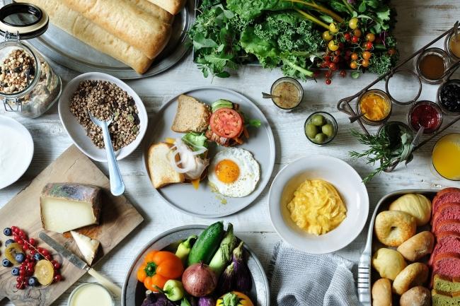 ※朝食イメージ