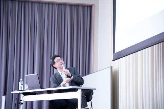 青栁氏講演の様子