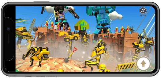 VR scene - fukupoly「FAMILIAR」(STYLY Mobile)