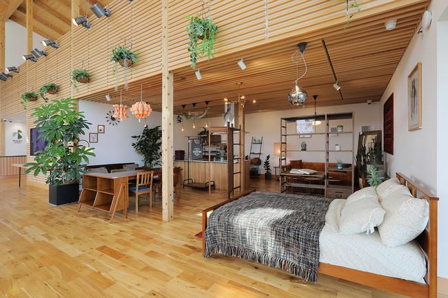 「インテリアギャラリー」では家具をコーディネート販売