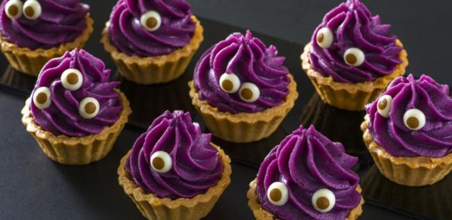 紫芋のモンスタータルト