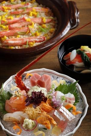 日本料理「うえまち」海老・蟹 冬の味覚懐石「からたち」イメージ