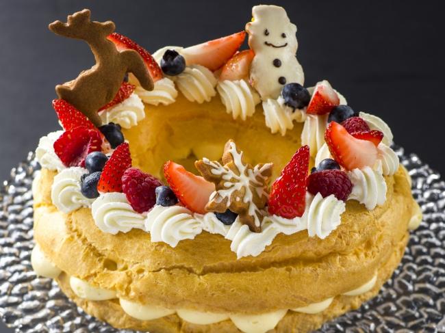 リースのシューケーキ
