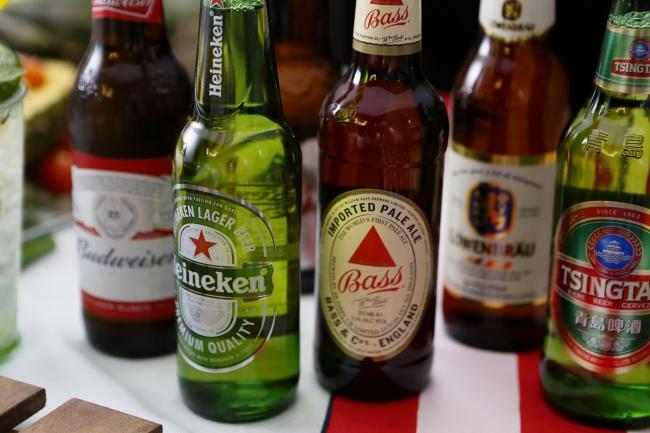 ビールは瓶・生ビール含めて全11種類!