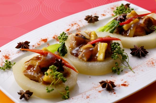【ディナーに登場】「山椒とスターアニス風味の黒酢酢豚と冬瓜煮」(写真はイメージ)