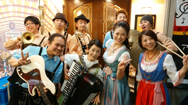"山口ひとみ with Wisen Band ""toi,toi,toi!"""