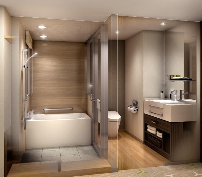 洗い場付き浴室(イメージ)