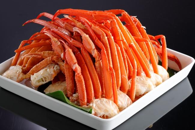 バイキング&カクテルラウンジ トップ オブ ミヤコ「ボイル トゲズワイ蟹」(ディナー限定)