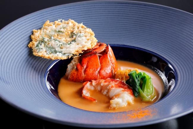 レストラン&ラウンジ eu(ゆう)「オマール海老のビスク」