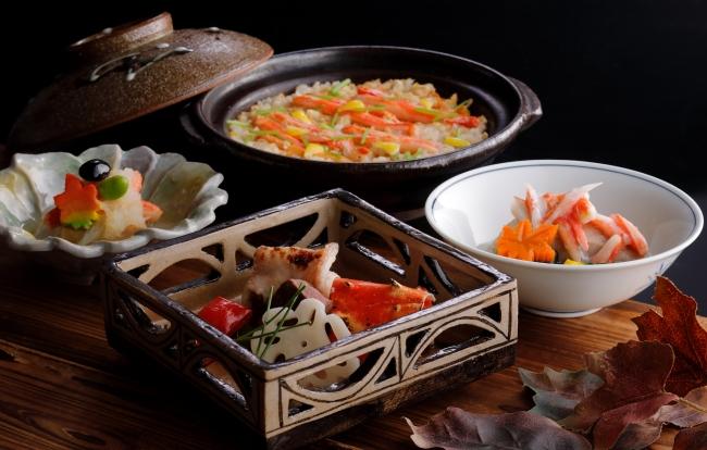 日本料理 うえまち「海老・蟹 冬の味覚懐石 からたち」イメージ