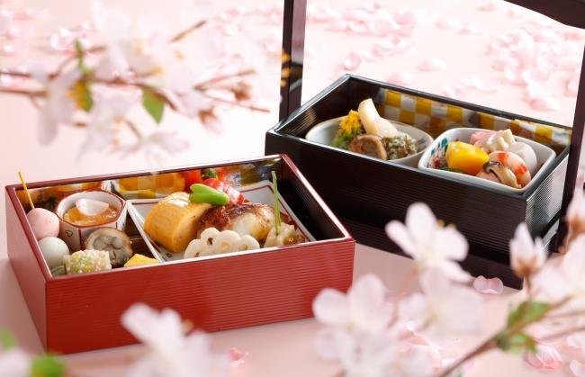 <ランチ>日本料理 うえまち(4月の料理)