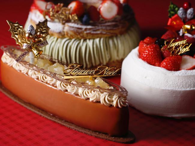 2020年のクリスマスケーキは3種類。特別な日に華を添えます。