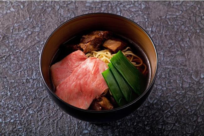 神戸牛の肉吸いラーメン