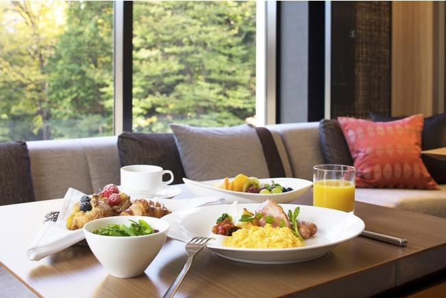 シェラトンクラブ ラウンジ 朝食イメージ