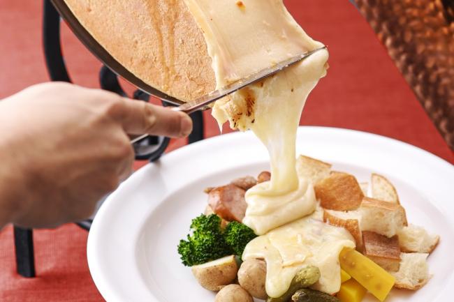 花畑牧場のラクレットプレート~vege&meat~