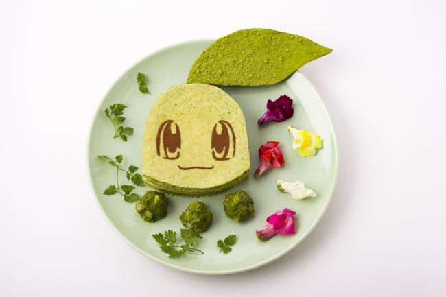 チコリータのグリーンパンケーキサンド 1,706円