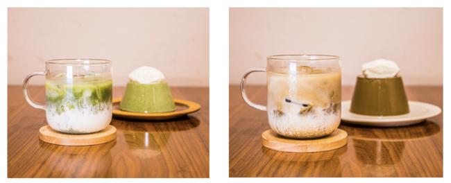 抹茶・ほうじ茶プリンへのアレンジも!※写真はイメージです。