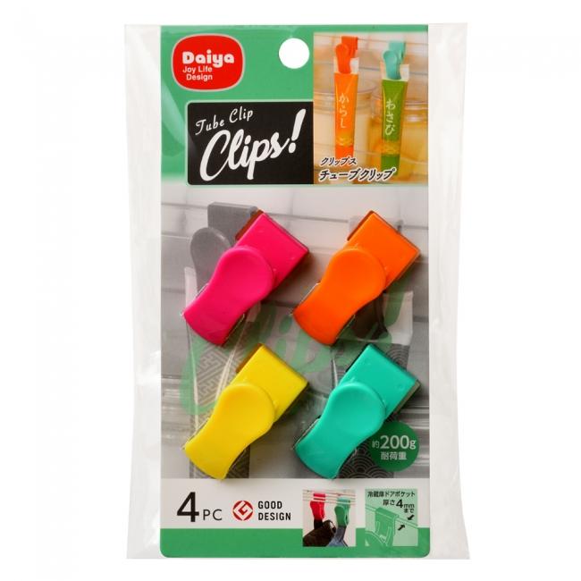 『クリップス チューブクリップ』商品パッケージ