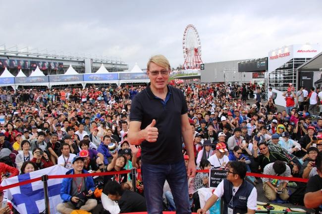 2018年鈴鹿F1日本GPでのトークステージ