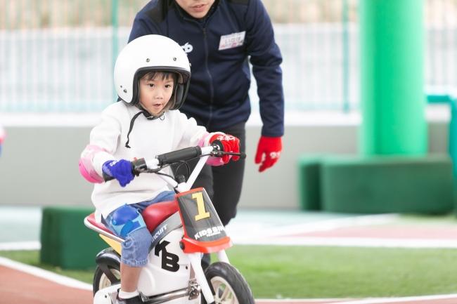 キッズバイクトレーニング