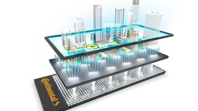 ライトフィールド技術により、専用3Dメガネやアイトラックセンサーがなくても3D効果が得られます。