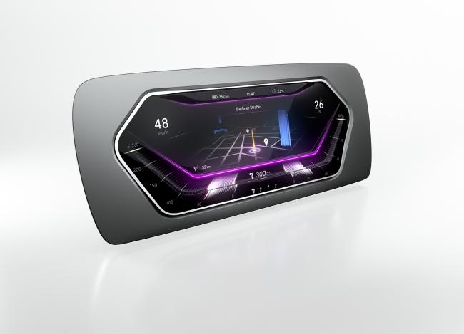3Dディスプレーが運転席のデザインをより多様に