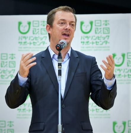 国際パラリンピック委員会アンドリュー・パーソンズ(Andrew Parsons)会長