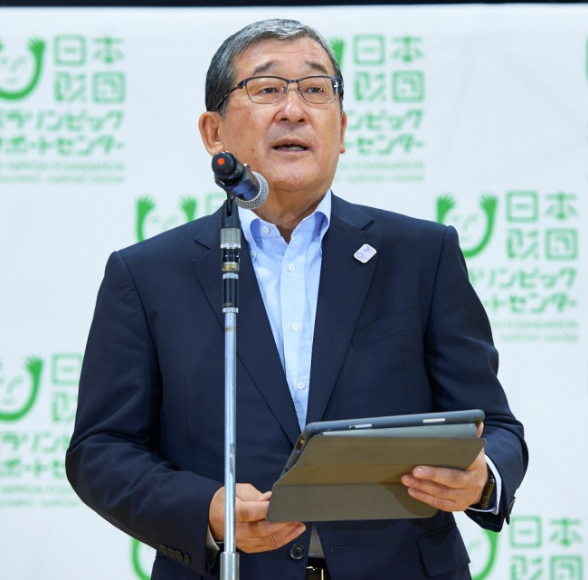 日本財団パラリンピックサポートセンター会長 山脇康