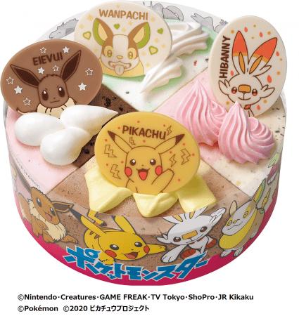 ポケモンパレットケーキ