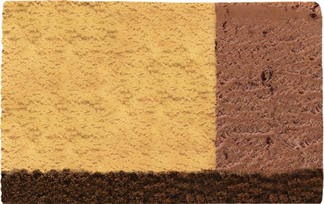 ジャモカコーヒー+チョップドチョコレート(チョコレートスポンジ)