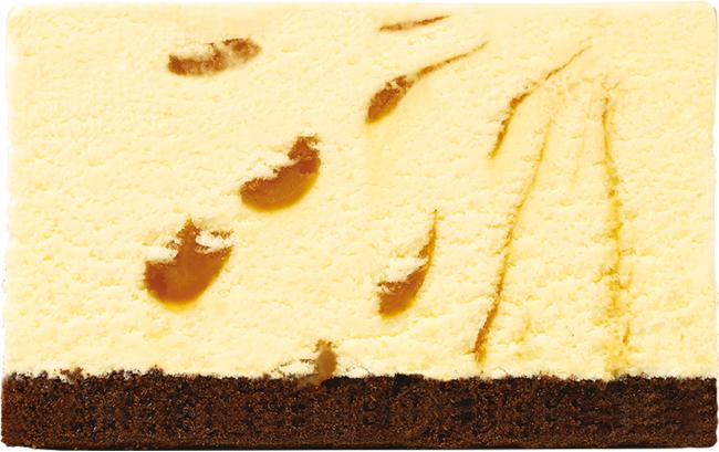 キャラメルリボン(チョコレートスポンジ)