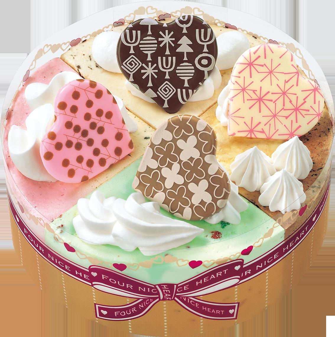 ケーキ アイス