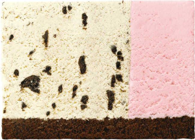 クッキー&バニラ×ストロベリー(チョコレートスポンジ)