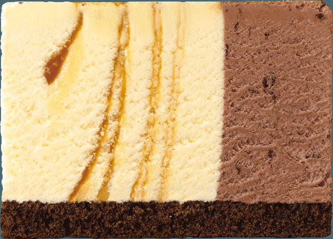 キャラメルリボン×チョップドチョコレート(チョコレートスポンジ)