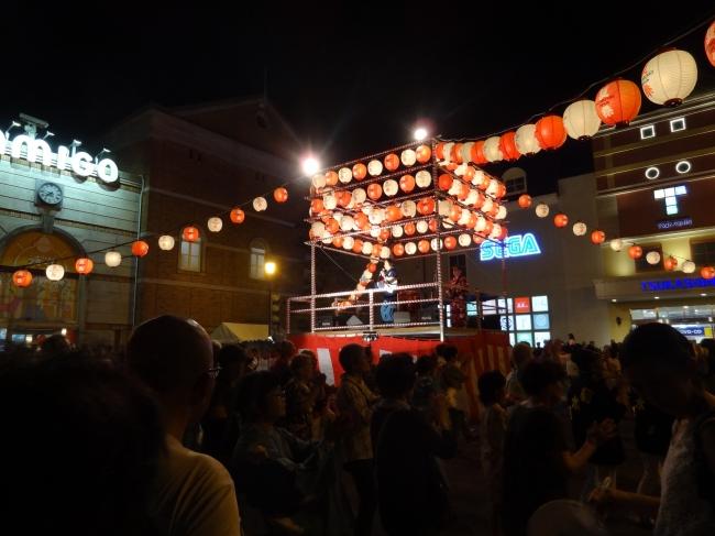 つかしん夏祭り 納涼盆踊り大会の様子 (昨年撮影)