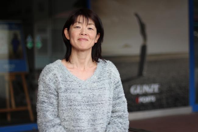 コーチの小林玲子選手