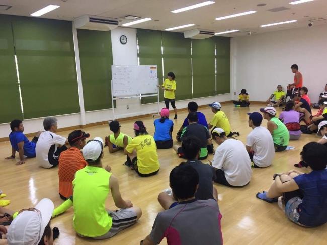 トレーニング前の理論説明