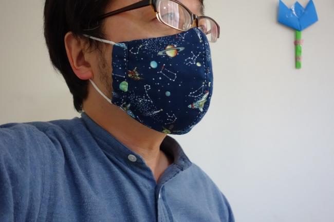 男性 用 型紙 マスク