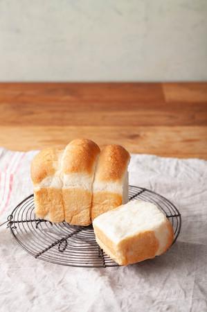 本格的なふわぐわの中種食パン