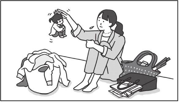 心の中に想像上の小さな女の子をつくって、彼女との対話を通して心を癒やす「小さな女の子法」を紹介。