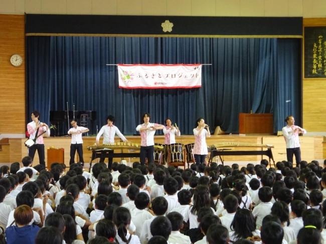 AUN Jクラシック・オーケストラの和楽器演奏
