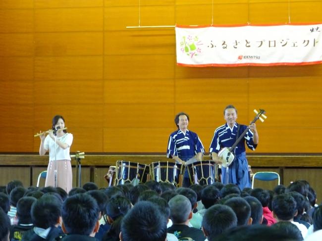 和楽器演奏の様子