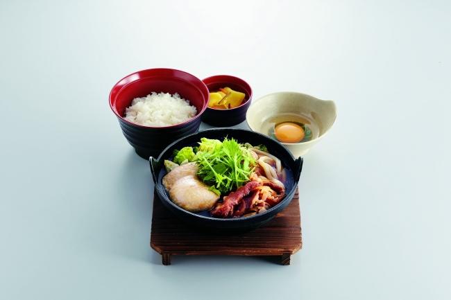 すき焼き鍋定食 ¥759(税込¥834) 〈単品〉¥659(税込¥724)
