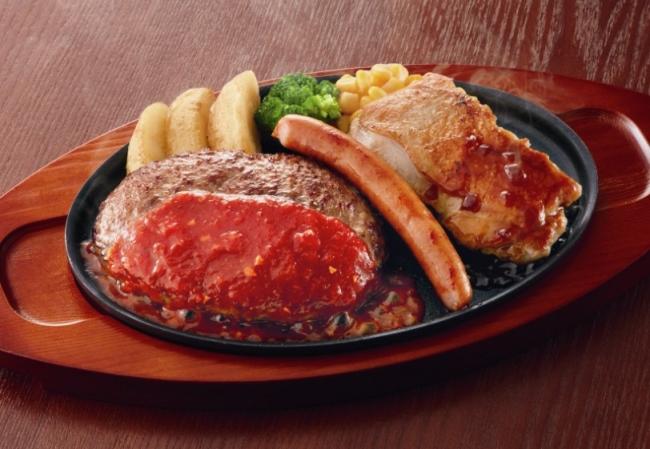 ミックスグリル弁当  ¥899(税込¥970)