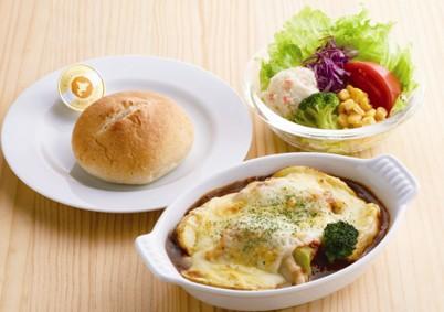 たっぷりチーズの ロールキャベツグラタンセット ¥899(税込¥988)