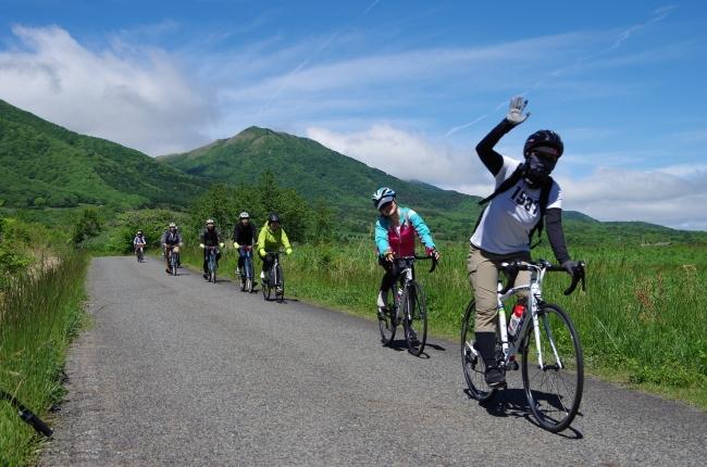 蒜山でサイクリング